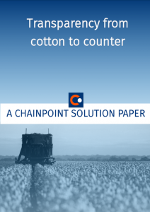 Whitepaper transparency from cotton to counter